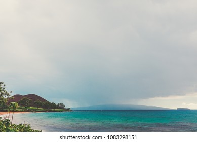 Makena Bay On The Southern Coast Of The Island Of Maui