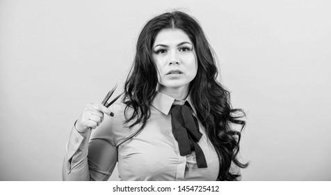 Makeup false lashes volume. Lash applicator. Eyelash extension tweezer. Professional makeup artist. Cosmetic tweezer tool. Beauty shop concept. Girl makeup face hold tweezer for eyelash extension.