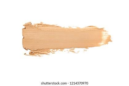 Make-up foundation bb-cream smudge powder creamy background