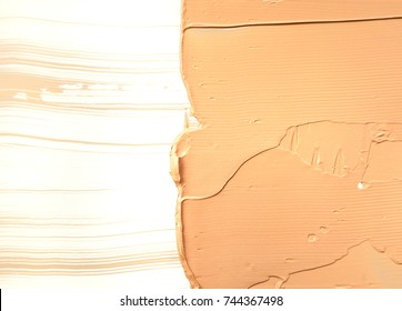 Makeup foundation blur cream isolated background