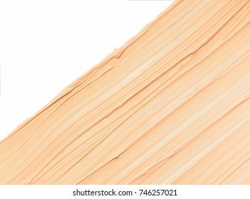 Makeup foundation blur cream white background