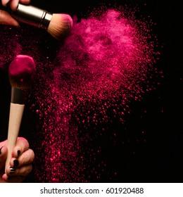 Makeup Splatter