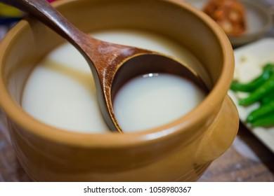 Makgeolli, Korean traditional alcohol