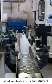 Making bottles and printing on plastic bottles