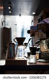 The Making coffee