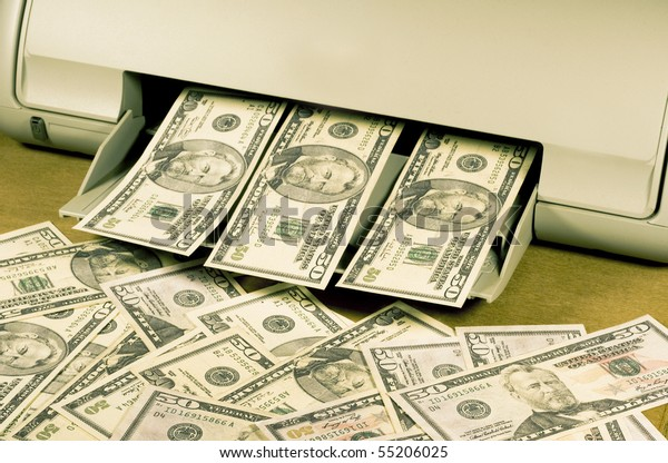 making counterfeit money on a home ink jet printer