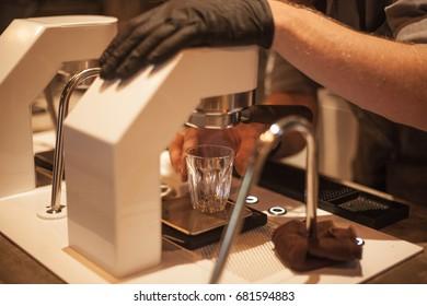 Making Espresso Shot