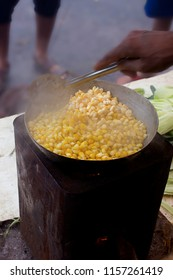 Making of hot and sweet corn