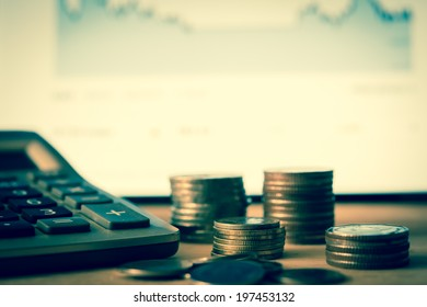 Making Money Investment Concept.