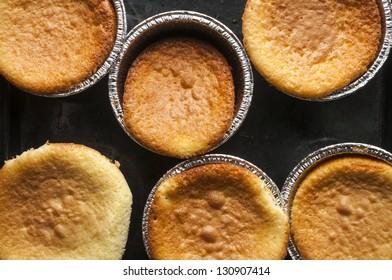 Making orange cake series