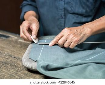making pants