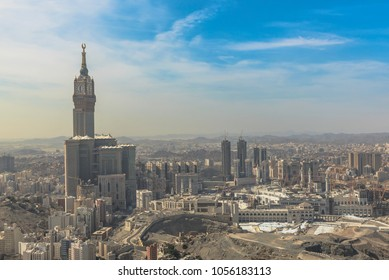 Makkah city in saudi arabia in the daytime