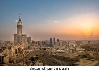 Makkah Royal Clock tower Saudi Arabia