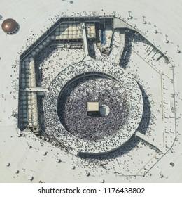 makkah from sky