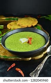 Makki Ki Roti with Sarson Ka Saag
