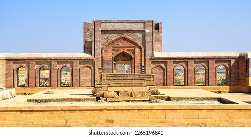 Makli Graveyard (The UNESCO Heritage site) near the apex of the delta of the Indus River in Pakistan's southern province of Sindh