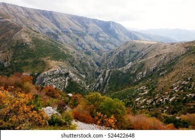 Mala Rijeka Viaduct, Montenegro