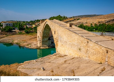 The Malabadi Bridge is an arch bridge spanning the Batman River near the town of Silvan in southeastern Turkey.