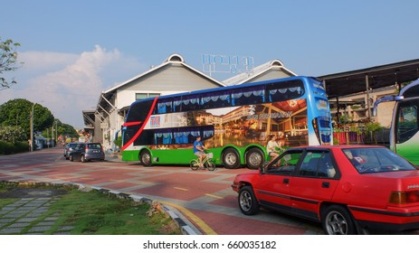 Malacca, Malaysia; 11/06/2017;  The scene at Bandar Hilir Malacca, the site for tourist attraction.