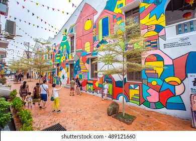 MALACCA, MALAYSIA - AUGUST 21, 2016 : City views of Malacca, Malaysia. Malacca has been listed as a UNESCO World Heritage Site since 7 July 2008