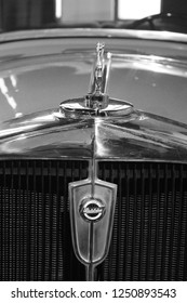 MALAGA, SPAIN - 2 DECEMBER, 2018: Studebaker antique car.