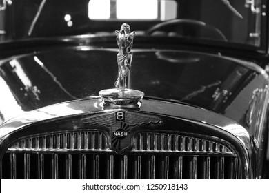MALAGA, SPAIN - 2 DECEMBER, 2018: Studebaker-Packard Corporation  car