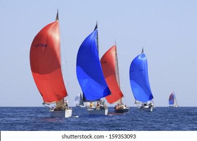 Malaga (Spain) yachts race during april 5 2008