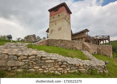 The Malaiesti fortress, the Hateg Country, Transylvania, Romania, Europe