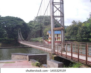 Malampuzha dam famous suspension bridge near palakkad kerala