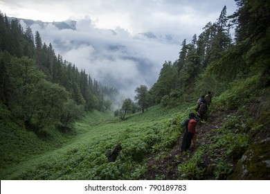 Malana Trek to Kasol, Himachal Preadesh, India