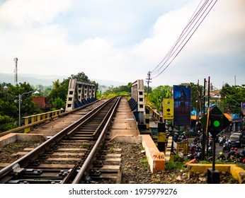 Malang City, East Java, Indonesia : View of Malang City atmosphere in the morning. One of the favorite city from youngest people in Indonesian. The city with cold atmosphere (23 August 2018)
