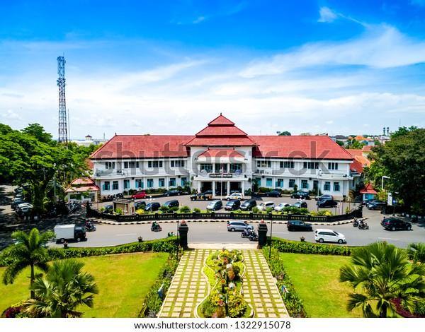 Malang East Java Indonesia Jan 15 Buildings Landmarks Stock Image 1322915078