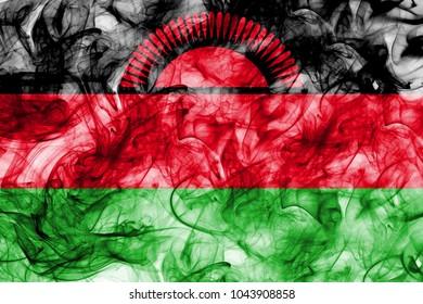 Malawi smoke flag