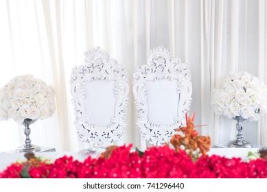 malay wedding dining table