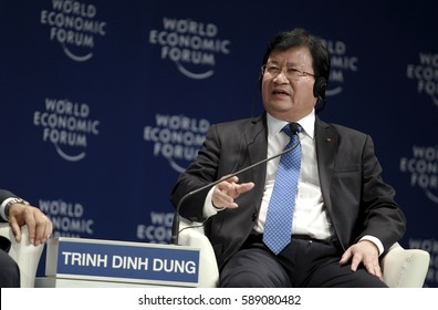 MALAYSIA. 01 JUNE 2016 - Deputy Prime Minister of Vietnam, Trinh Dinh Dung, said at a question and answer session at the World Economic Forum (WEF) ranked ASEAN 2016.