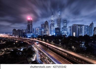 Malaysia 14-01-2014, Kuala Lumpur Gotham CIty