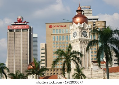 MALAYSIA, 30 MAY 2021: This photo around Dataran Merdeka was taken on 5 March 2012 for memories while visiting Kuala Lumpur.Merdeka Square has been the usual venue for the annual Merdeka Parade (Natio