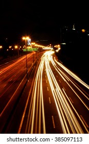 Malaysia Federal Highway Night View