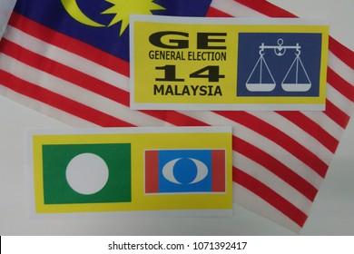 MALAYSIA GENERAL ELECTION 14 or PILIHANRAYA UMUM in Malaysia language