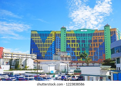 Malaysia, Genting Highland  - 15 October, 2018 : Genting First World Hotel, Most grand hotel in Genting Highland, It is a popular tourist destination in Malaysia.