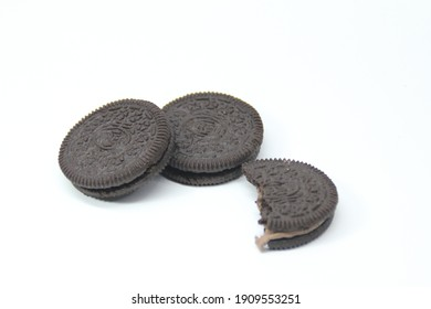 Malaysia, Kuala Terengganu 4 January 2021 : oreo biscuits are a favorite snack for Malaysians.