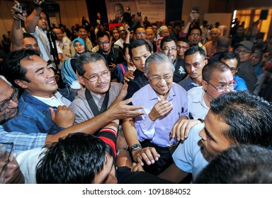MALAYSIA : May 16, 2018 - File photo of 7th Malaysia Prime Minister, Tun Dr. Mahathir Mohamad during his attend an unnamed event after he retired on of 4th Prime Minister in Kuala Lumpur.