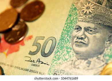 Malaysia Ringgit, Some coins on Bill.