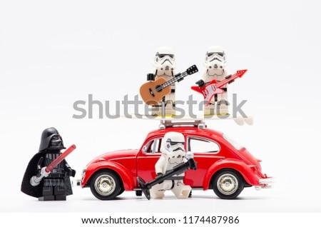 Malaysia Sept 2 2018 Lego Darth Stock Photo Edit Now 1174487986