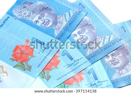 Malaysian Money Malaysian Currency Bank Notes Stock Photo Edit Now