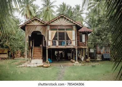 Malaysian Perak village house