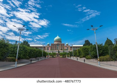 Malaysian Prime Minister office, Perdana Putra in Putrajaya.