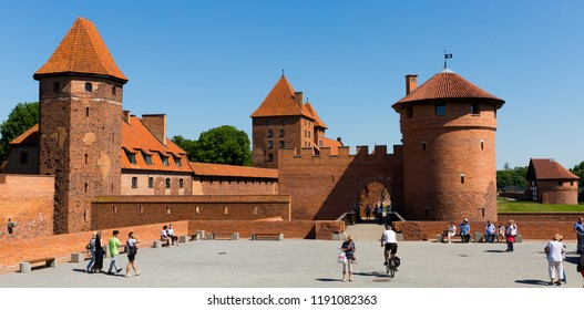 MALBORK, POLAND - MAY 13, 2018: