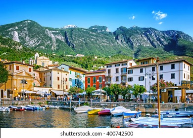 Malcesine on Garda Lake, Italy