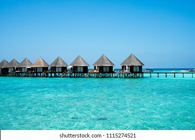 Maldives beach resort – summer vacation